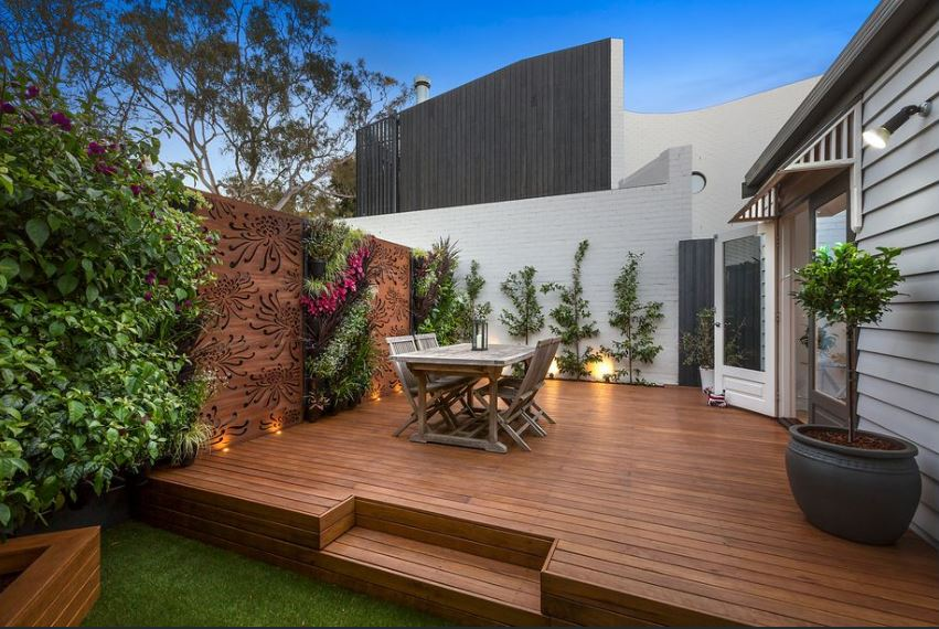 Decking edible garden vertical garden landscaping carpenter handyman gold coast melbourne tweed heads - Rev