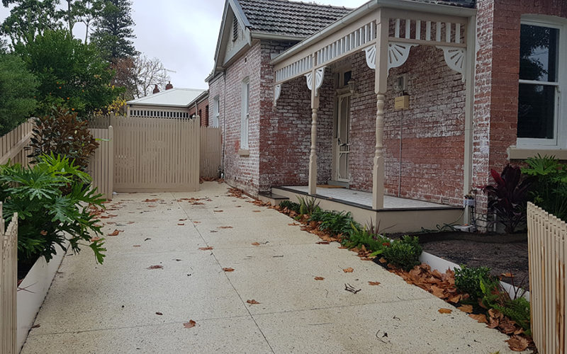Landscaping Driveway exposed aggregate gold coast melbourne handyman concreting copy 800x500 - Services We Offer